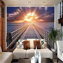 rylryl Sea View Corridor 3D Landscape Mural