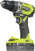 Ryobi Brushless Combi Drill 2Ah Battery & Charger