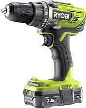 Ryobi Drill Driver 1.5Ah Battery & Charger