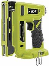 Ryobi R18ST50-0 Stapler, 18 V, Hyper Green