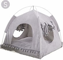 Ryoizen Pet Tent, Pet Bed, Ultra Soft Cat House
