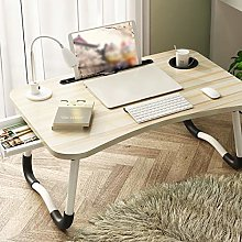 RYSB Laptop Bed Table,Multifunktional With Drawer