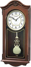 Rythmn Wooden Case Wall Clock - with Westminster