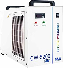 S&A Genuine CW-5200 AG 220V Water Chiller for 100W