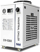 S&A Industrial Water Chiller for 50W CO2 Laser