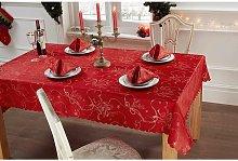 S Green - Christmas Festive Tablecloth 50 x