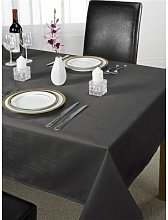 S.green - Emma Barclay Chequers Tablecloth, Black,