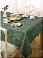 S.green - Emma Barclay Damask Rose Tablecloth,