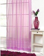 S.green - Lilac purple Plain voile net curtain