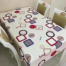 S&shan Manteles, Canvas cotton tablecloth