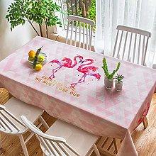 S&shan Manteles, Cartoon flamingo fabric cotton