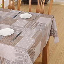 S&shan Manteles, PVC waterproof tablecloth, C, 70