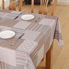 S&shan Manteles, PVC waterproof tablecloth, C, 90