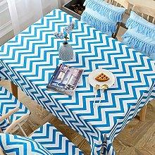 S&shan Manteles, Simple geometric striped