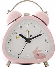S.W.H Classic Alarm Clocks with Night Light, Cute