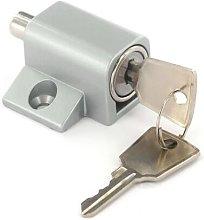 S1052 Window / Patio Door Lock Silver Pack Of 1 -