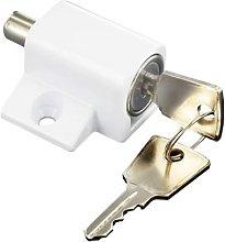 S1053 Window / Patio Door Lock White Pack Of 1 -