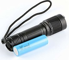 S12 flashlight with LH351D 2700K 3500K,with 21700