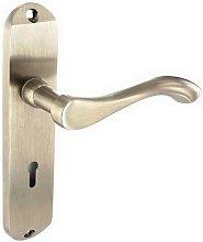 S2875 Europa Brushed Nickel Lock Handles 175mm -