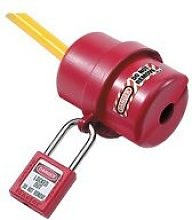 S487 Lockout Electrical Plug Cover Small for 120 -