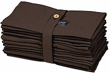 S4Sassy Brown Solid Home Decor 12 x Holiday