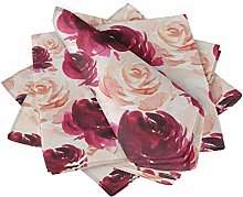 S4Sassy Pink Grandiflora Roses Floral Tea Party