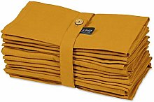 S4Sassy Yellow Solid Home Decor 12 x Holiday