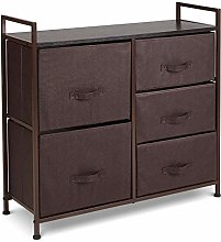 SA Products Stylish Dresser Storage Tower with