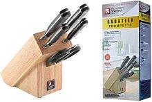 Sabatier Trompette Five-Piece Knife and Scissors