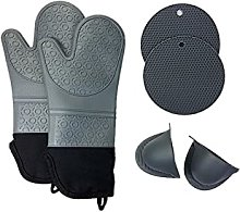 sacfun Silicone insulated gloves plus cotton