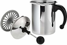 SACIM Cappuccino My Milk Frother, Stainless Steel,