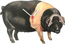 Saddleback Pig Clock - OF13