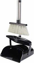 SADDPA Broom and Dustpan Set Extension Long Handle