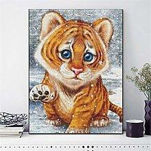 SADHAF Tiger DIY Full Drill Diamond Painting