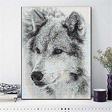 SADHAF Wolf DIY Full Drill Diamond Paint Cartoon