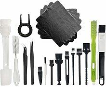 Sadocom PC Cleaning Kit, Plastic Handle Nylon Anti
