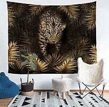 Safari Cheetah Print Wall Blanket Leopard Tapestry