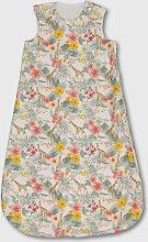 Safari Floral Print 0.5 Tog Sleeping Bag - 6-12