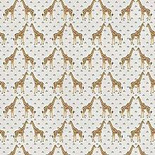 Safari Giraffe - 1 Fat Quarter (46cm x 48cm) -