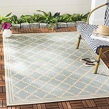 Safavieh Area Rug, Aqua/Cream, 160 X 230 cm