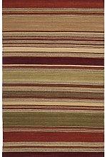 Safavieh Rug, Brown/Teal, 152 X 243 cm