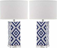 Safavieh Vivian Ceramic Table Lamp ( Set of 2 ),