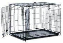 Safe 'N' Sound Dog Crate 2 Door LGE - lge