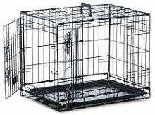Safe 'N' Sound Dog Crate 2 Door - sml -