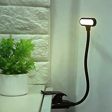 Safety Charging Indicator Clip On Reading Lamp LED