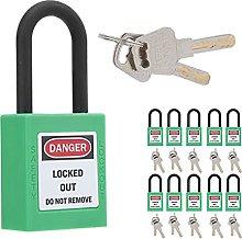 Safety Padlock, Light in Weight Isolation Lock