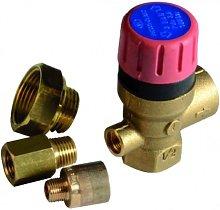 safety valve 3 bar 1/2 - ACV : 557A1076