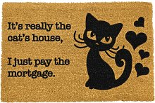 Safia It's Really The Cat's House Doormat