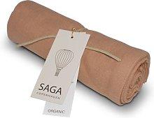 Saga Copenhagen - Dusty Coral Vidar Muslin Cloth -