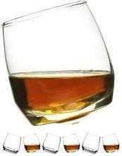 Sagaform - 6 Pack Rounded Base Bar Whiskey Glasses